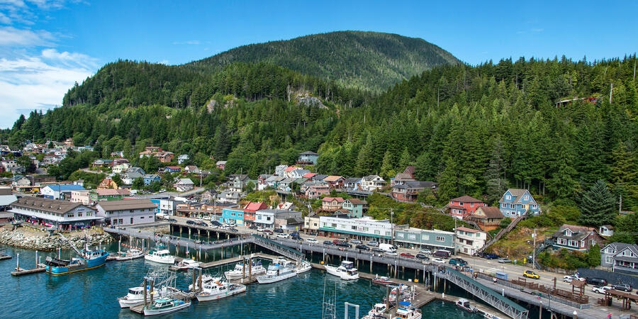 View of Ketchikan, Alaska (Photo: shippee/Shutterstock)