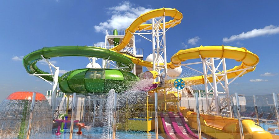 Carnival Splendor WaterWorks (Photo: Carnival Cruise Line)