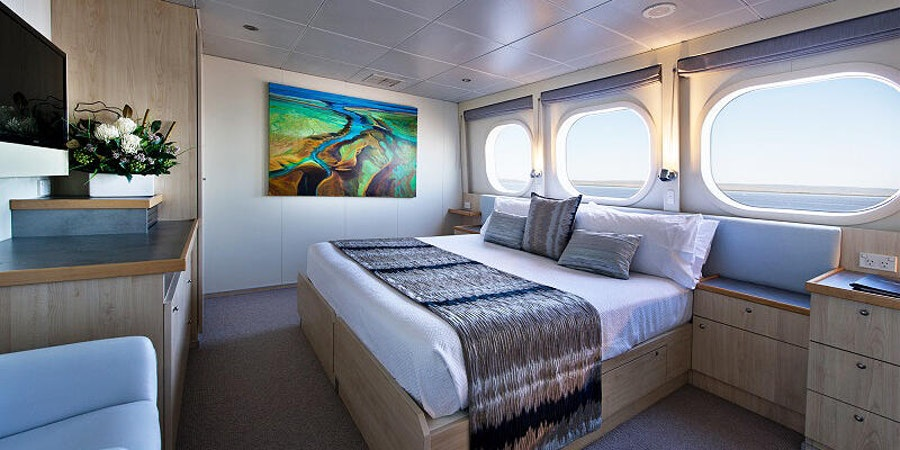 Explorer Class Stateroom on True North (Photo: The North Adventure Cruises)