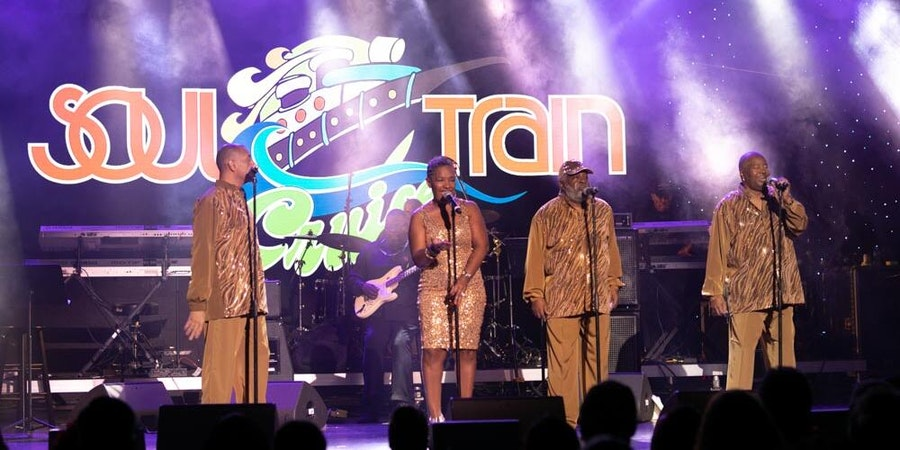 Live performance on the Soul Train Cruise (Photo: The Soul Train Cruise)