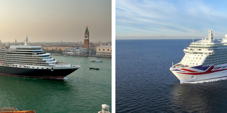 Cunard Line vs. P&O Cruises