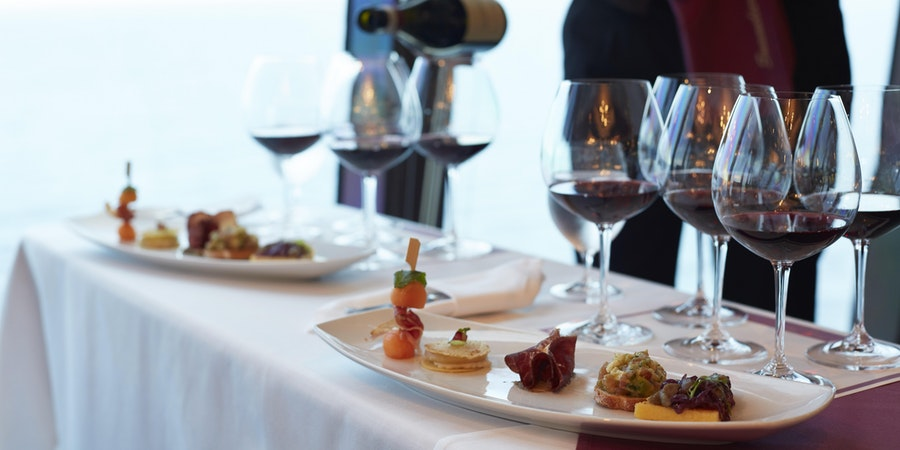 Silversea's Wine Tasting (Photo: Silversea Cruises)