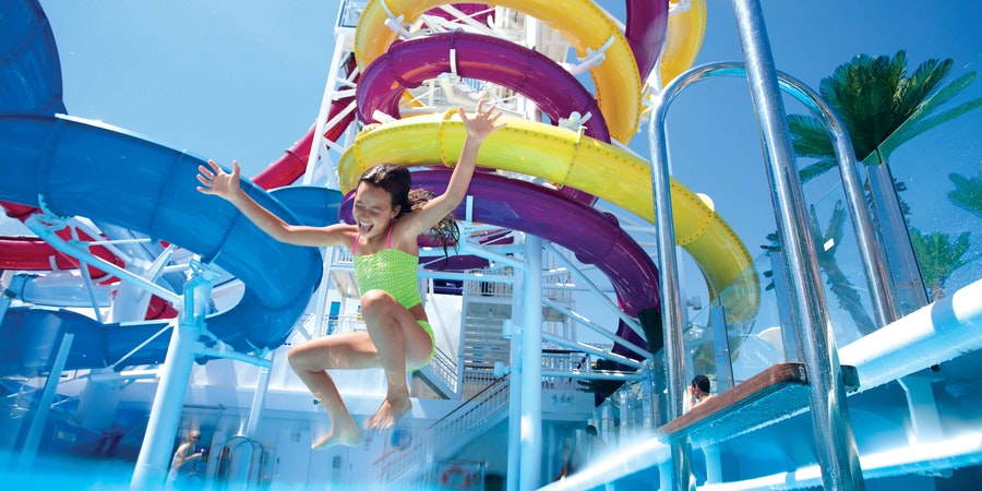 The Aqua Park on Norwegian Breakaway (Photo: Norwegian Cruise Line)