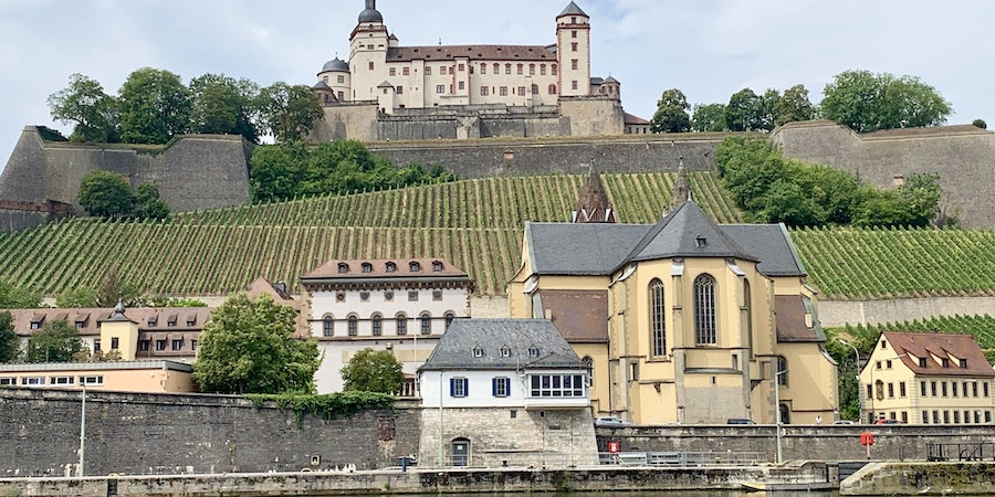 Cruising through Wurzburg, Germany (Photo: Louise Goldsbury)