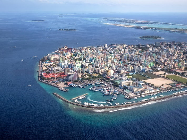 Main Capital of Maldives, Male (Photo: klempa/Shutterstock)