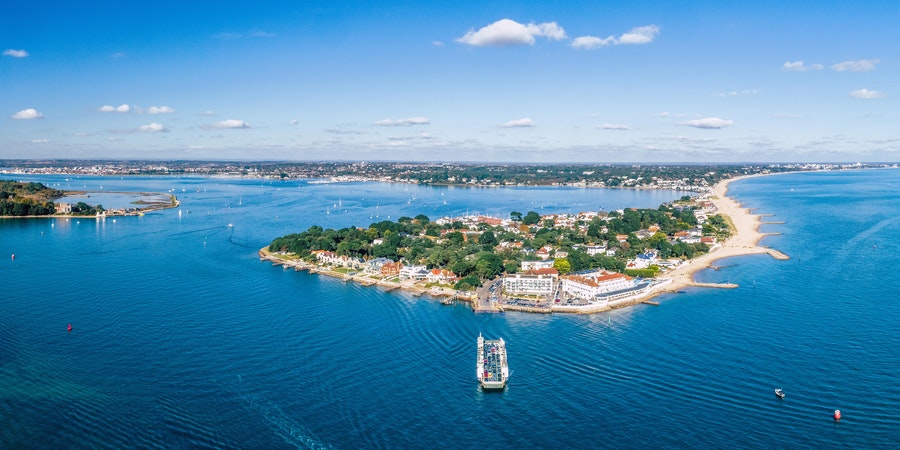 The Main Harbour in Poole, Dorset, Southern England, Showcasing it's Natural Beaches and Blue Waters (Photo: Steven Mckell/Shutterstock)