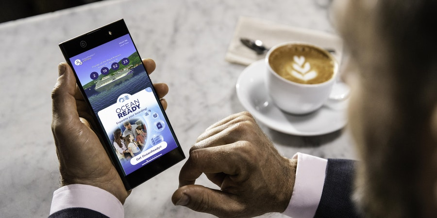 The OceanReady app (Photo: Princess Cruises)