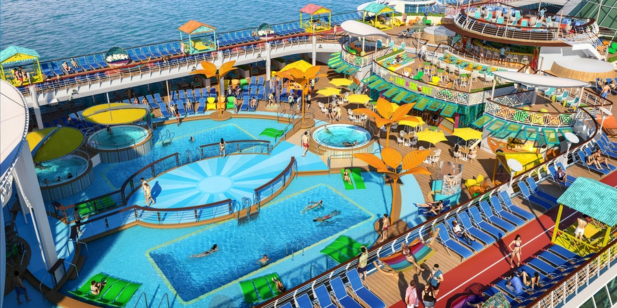Freedom of the Seas Cruise Ship to Undergo Refurbishment With Waterslides, New Eateries and More