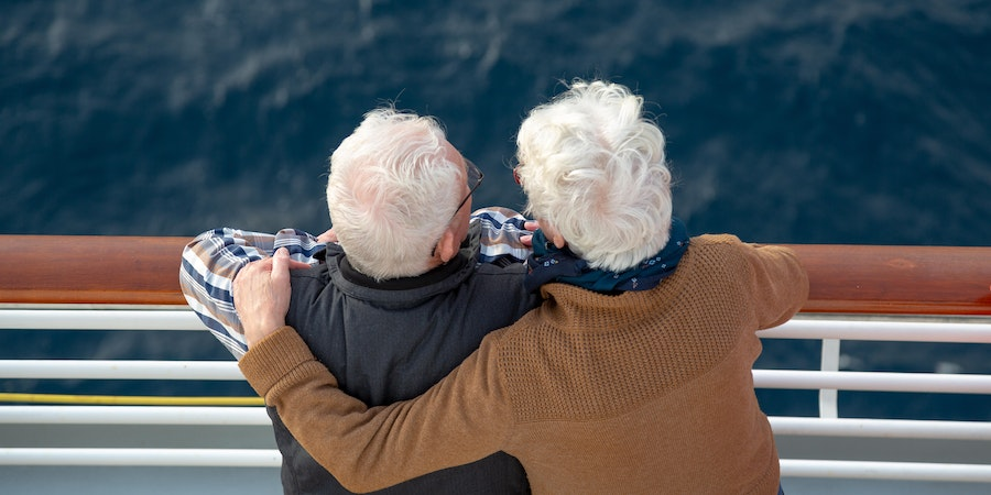 Senior couple on a cruise (Photo: The Art of Pics/Shutterstock.com)