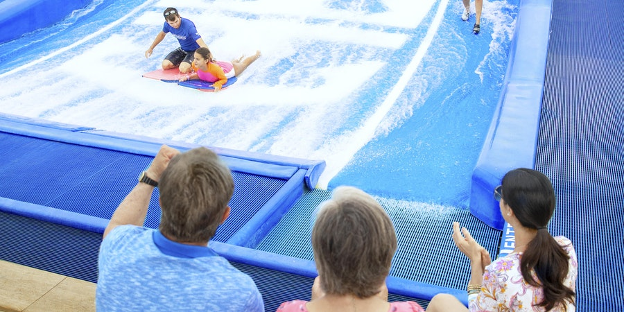 The Flow Rider on Royal Caribbean International (Photo: Royal Caribbean International)