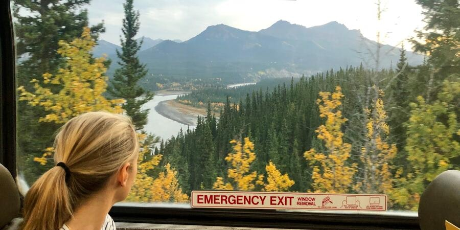 The view from the Princess train between Denali and Whittier is spectacular (Photo: Chris Gray Faust/Cruise Critic)