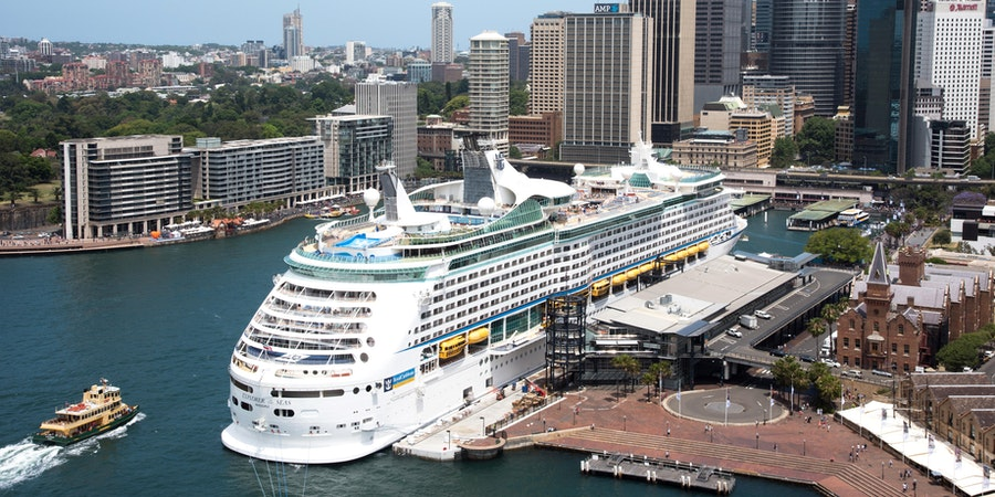 Overseas Passenger Terminal in Sydney, Australia with Explorer of the Seas in View (Photo: EA Given/Shutterstock)