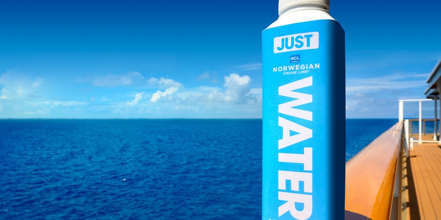"Norwegian Cruise Line to Introduce Plant-Based Water ""Cartons"" to Cruise Ships, Eliminate All Plastic Water Bottles"