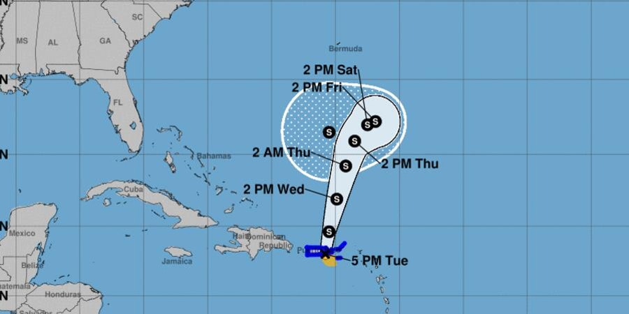 Tropical Storm Karen Causes Cruise Ship Itinerary Changes