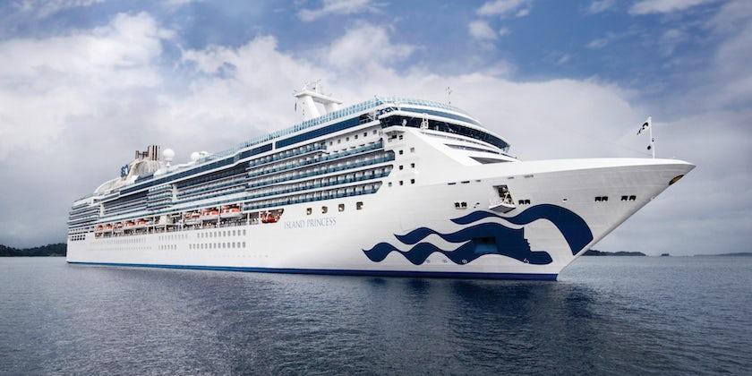 Island Princess (Photo: Princess Cruises)
