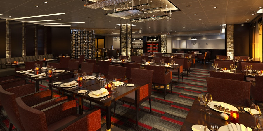 Fahrenheit 555 Steakhouse on Carnival Panorama (Image: Carnival Cruise Line)