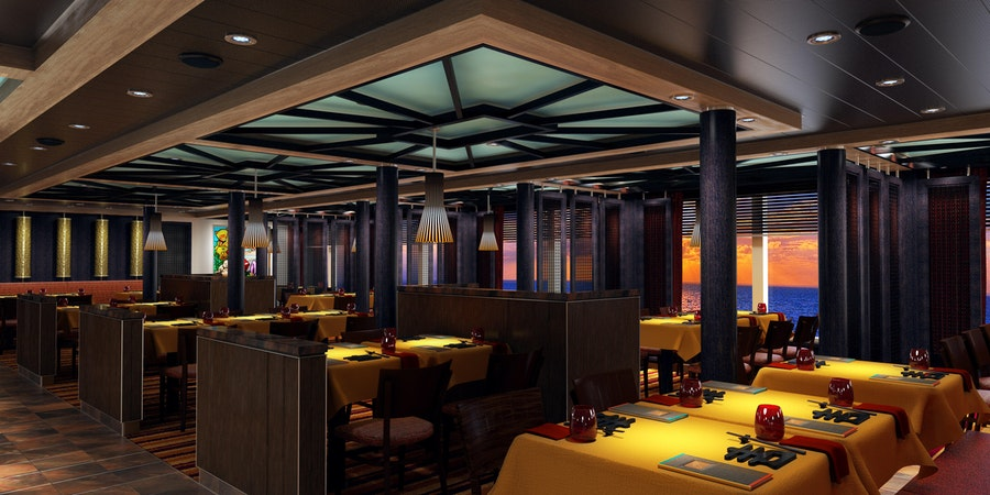 JiJi Asian Kitchen on Carnival Panorama (Image: Carnival Cruise Line)