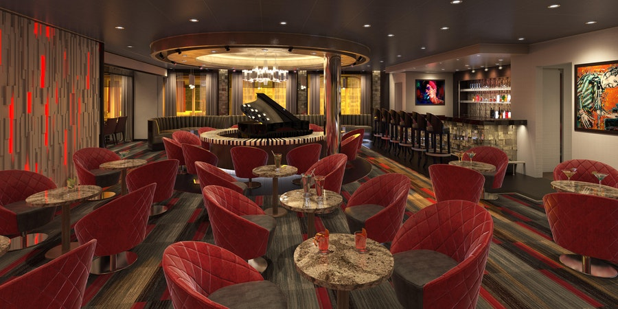 The Piano Bar on Carnival Panorama (Image: Carnival Cruise Line)