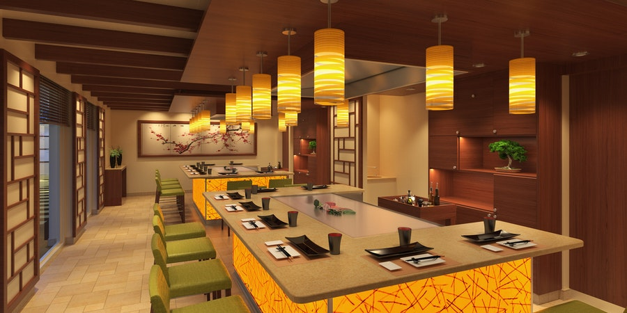 Bonsai Teppanyaki on Carnival Panorama (Image: Carnival Cruise Line)