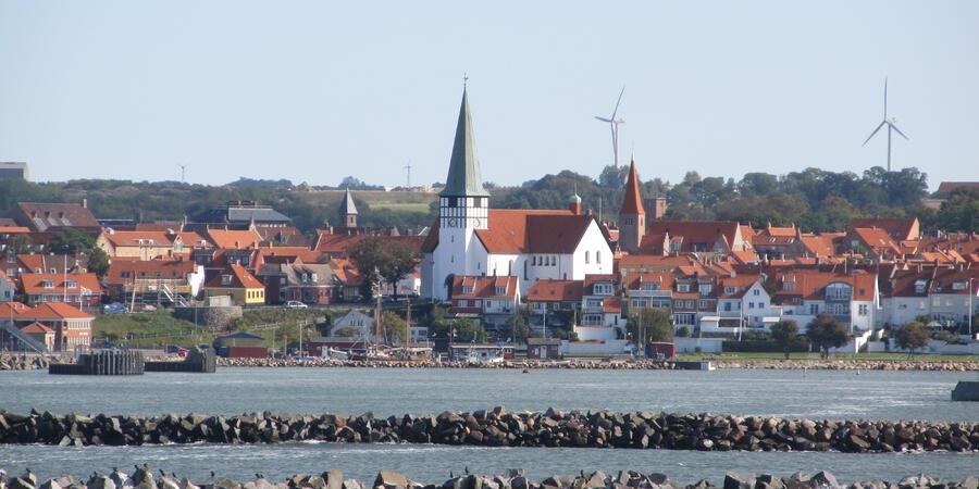 Arriving in Ronne, Bornholm, Denmark onboard Fred. Olsen's Boudicca (Photo: Donna Dailey)