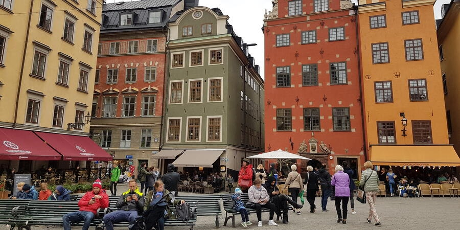 City tour in Stockholm, Sweden (Photo: Donna Dailey)