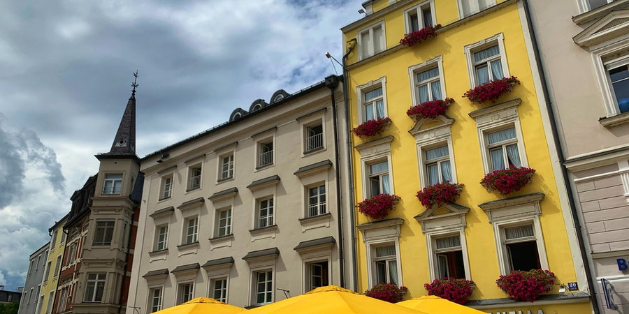 Colorful Passau (photo by Laura Bly)