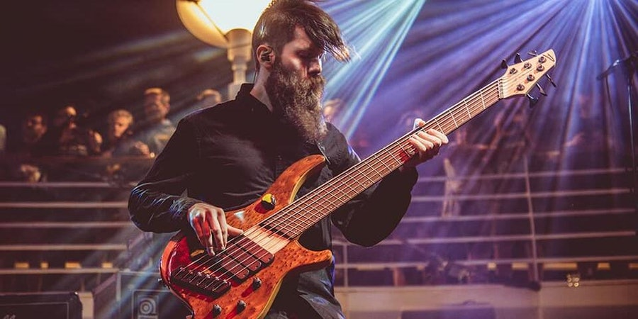 Conner Green of Haken (Photo: Savoia Photography/Cruise to the Edge)
