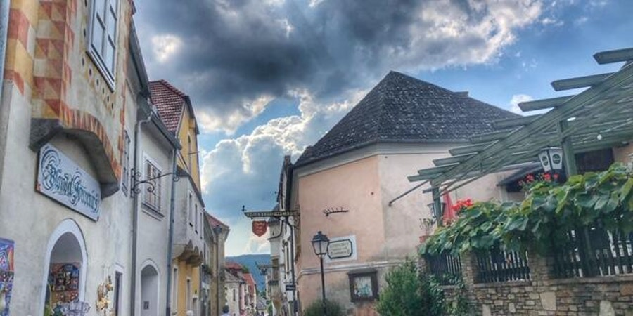 Durnstein on the Danube (Photo by Carolyn Spencer Brown)