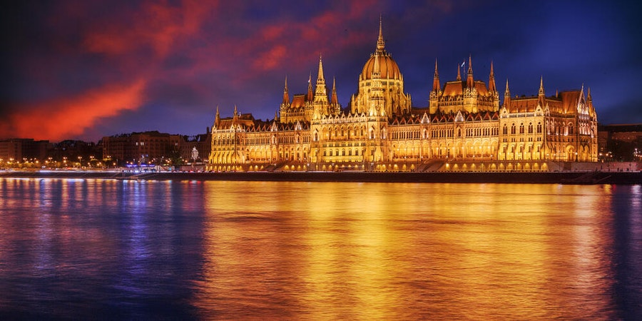 Budapest at night (Photo by Shutterstock)