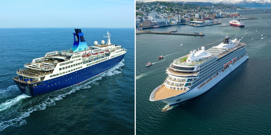 Saga Cruises vs Viking Ocean