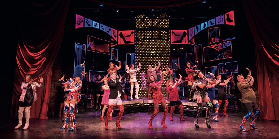 The Kinky Boots Performance on Norwegian Encore (Photo: Norwegian Cruise Line)