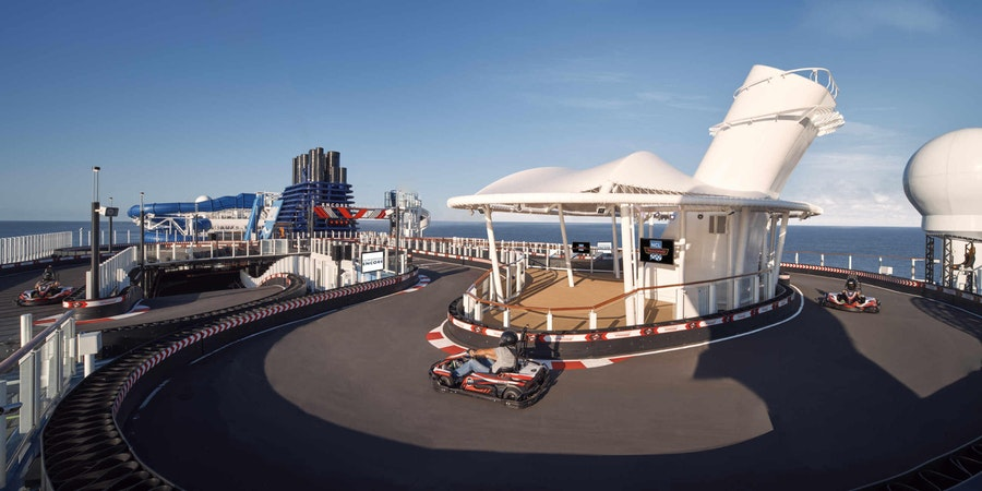 The Speedway on Norwegian Encore (Photo: Norwegian Cruise Line)