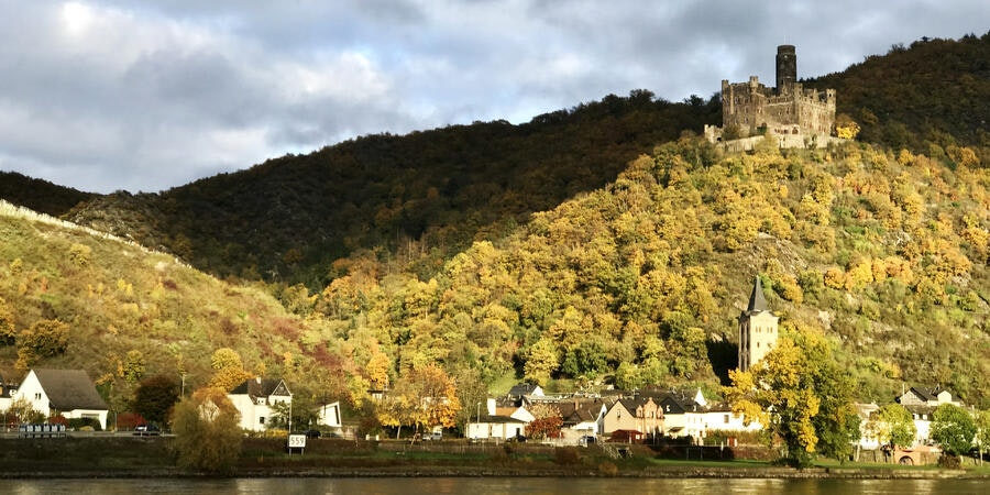 Autumn scenery along the Rhine River (Photo: Kerry Spencer/Cruise Critic)