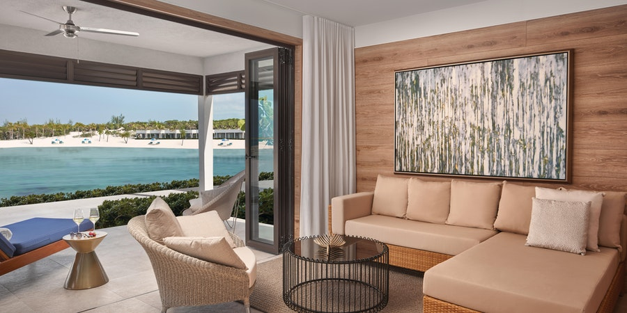 Silver Cove at Great Stirrup Cay - Lagoon Villa Studio (Image: Norwegian Cruise Line)