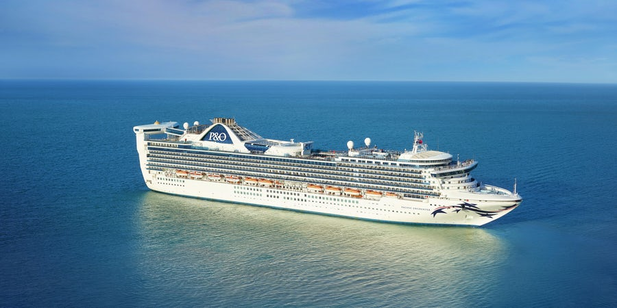 Pacific Encounter Cruise Ship Officially Joins P&O Australia Fleet
