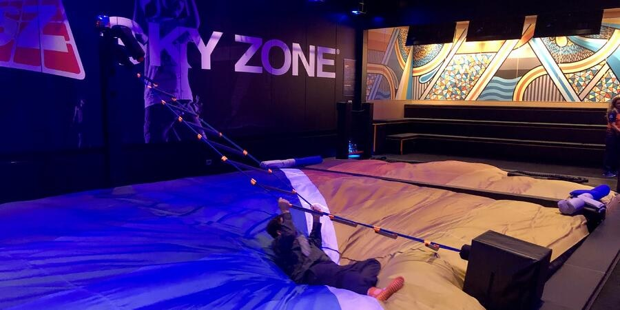 SkyZone Trampoline Park on Carnival Panorama (Photo: Chris Gray Faust/Cruise Critic)