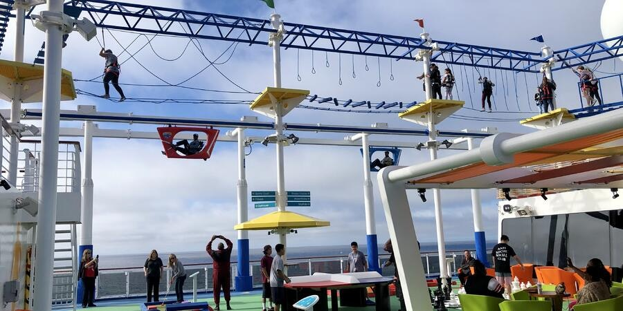 SportSquare on Carnival Panorama (Photo: Chris Gray Faust/Cruise Critic)