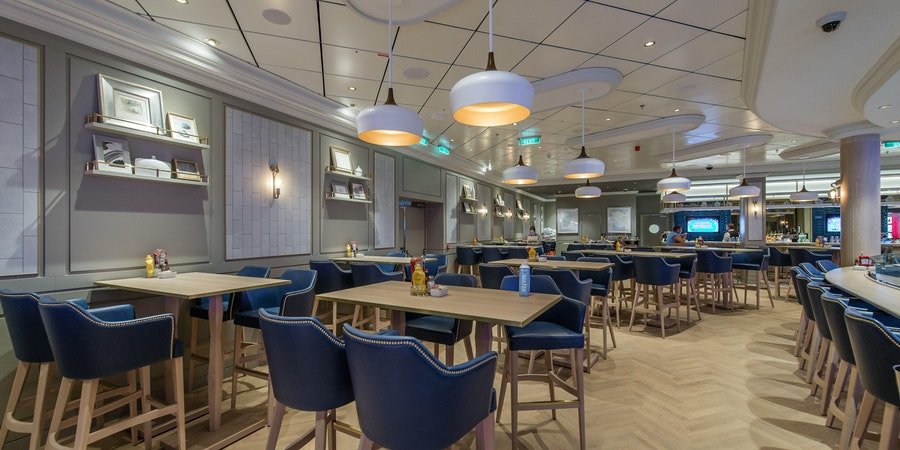 The Local Bar and Grill on Norwegian Encore (Photo: Cruise Critic)