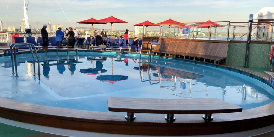 The Tides Pool on Carnival Panorama (Photo: Chris Gray Faust/Cruise Critic)