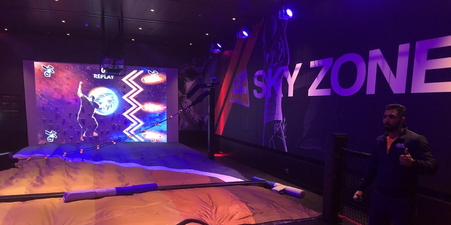 Sky Zone on Carnival Cruise Line