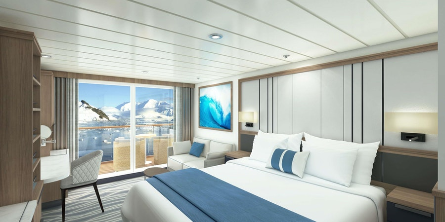 Balcony Cabin on Ocean Victory (Image: Victory Cruise Line)