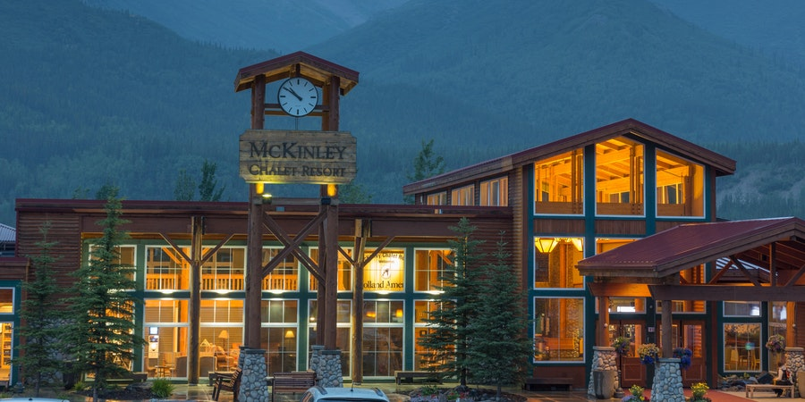 The McKinley Chalet Resort in Denali, Alaska (Photo: Holland America Line)