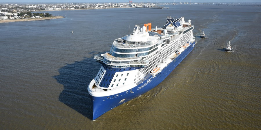 Celebrity Cruises' Celebrity Apex Completes Sea Trials