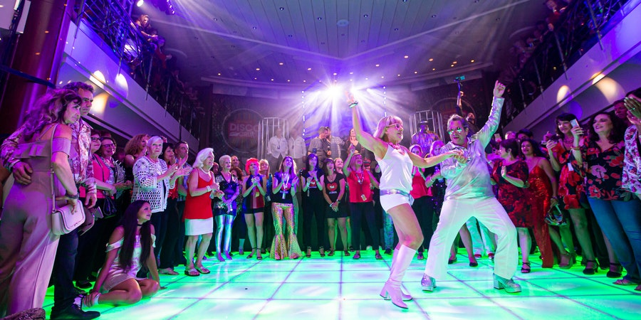 Dancing on the Ultimate Disco Cruise (Photo: Ultimate Disco Cruise)
