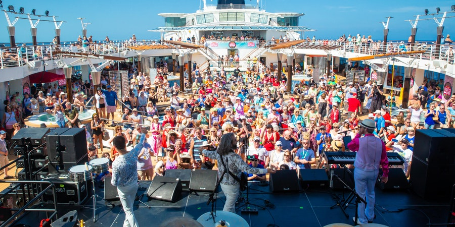 Pictures From the Ultimate Disco Cruise