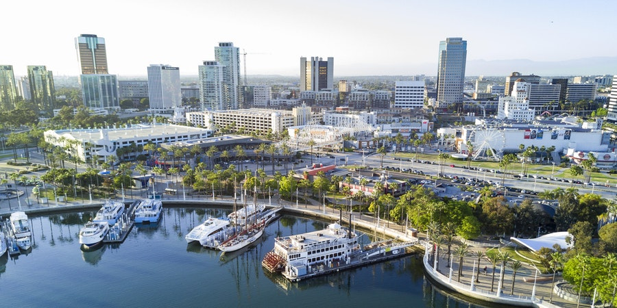 Long Beach, California (Photo: Kit Leong/Shutterstock.com)