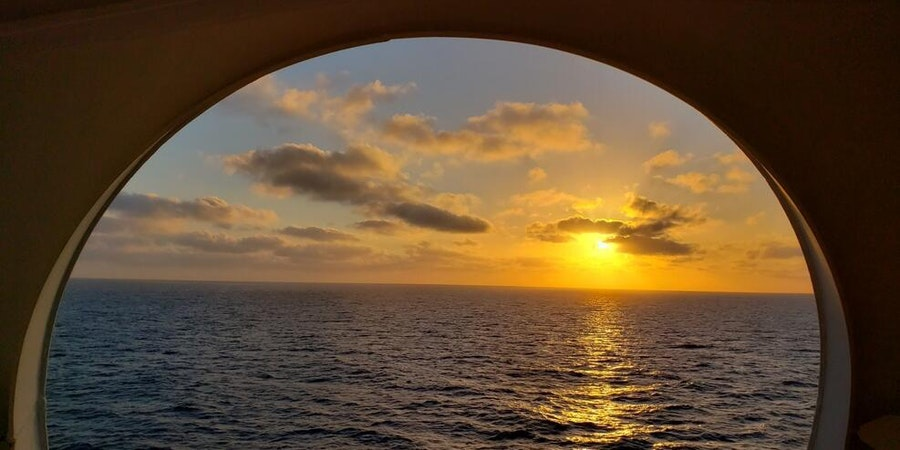 Western Caribbean sunset from Adventure of the Seas (Photo: photoz223/Cruise Critic member)