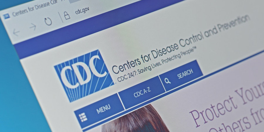 Center for Disease Control and Prevention website (Photo: g0d4ather/Shutterstock.com)