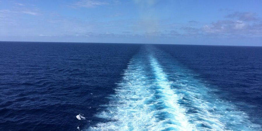 Wake view on Carnival Conquest (Photo: Mr. Blender/Cruise Critic member)