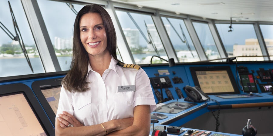Celebrity Cruise Captain Kate Claps Back at Misogyny on Tik Tok